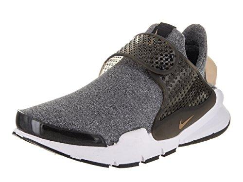 Nike Kvinnor Socka Dart Syns Löparskor Svart / Vachetta Tan-svart-vit