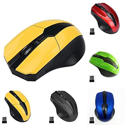 Sivane Ergonomía Mouse inalámbrico Mini Mouse Bluetooth optoelectrónico Ratones