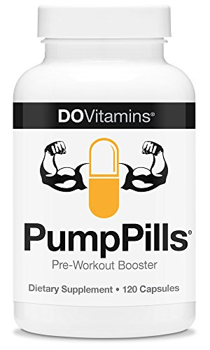 PumpPills - Nitric Oxide Booster, Caffeine Free Pre Workout