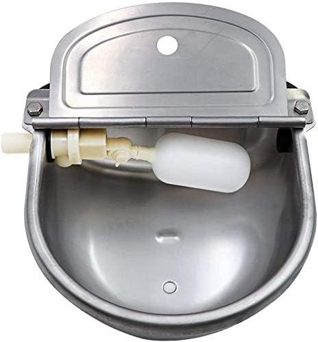 WHR-HARP Bebedero automático, Bebedero automático de Acero Inoxidable para ovejas de Cerdo Cabras Lechones Cochinillos Cochinillos Caballos pequeños Ganado Granja Suministros de Ganado