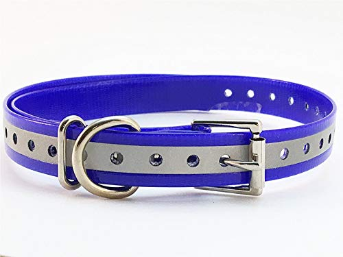 - Replacement Dog Training Collar Strap Band Buckle 3/4