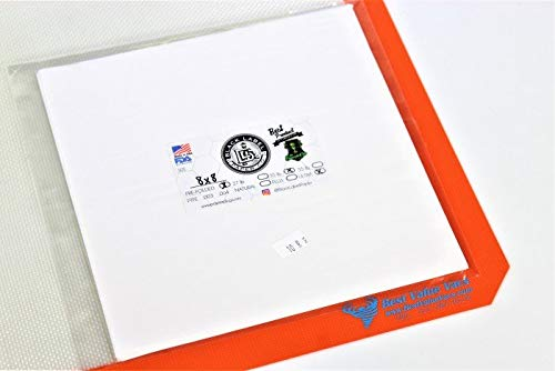 Black Label Parchment Paper 8''x 8'' Pre-Folded Silicone Ultra- 50 Pack
