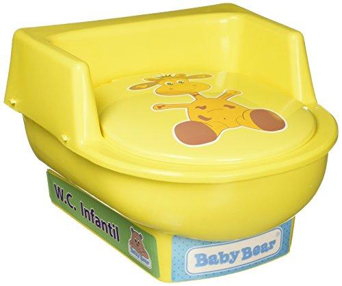 Bañito Baby Bear 1135 W.C. Infantil, color amarillo
