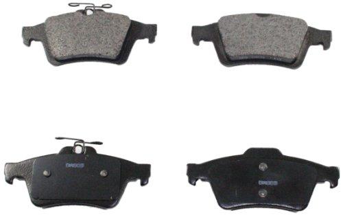 DuraGo BP1095 MS Rear Semi-Metallic Brake Pad