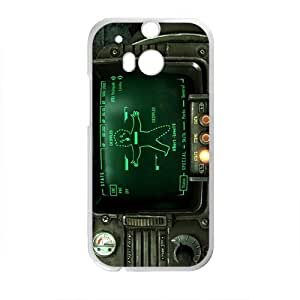 Pipboy Screen Design Hard Case Cover Protector For HTC M8