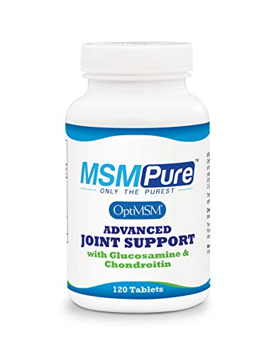 Kala Health MSMPure with Glucosamine, Chondroitin & Ester C, 120 Tablets, Maximum Strength Joint Pain Relief Supplement, Muscle Soreness, Inflammation Relief & Immune Support, Made in ()