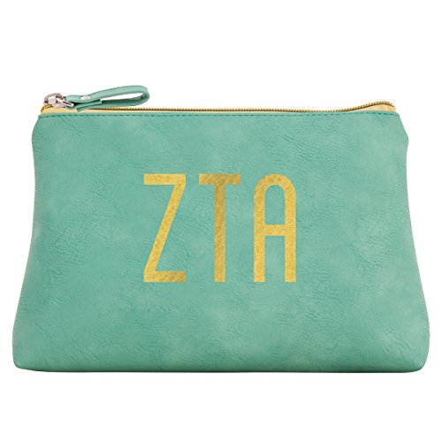 Alexandra And Company Cosmetic Bag, Zeta Tau Alpha