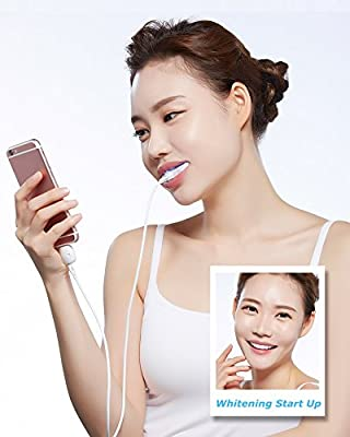 Dr Smile Smart Phone Beaming White teeth whitening kit (Android, iOS)