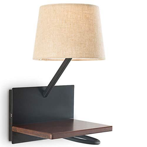 GUO XINFEN Lámpara de Pared Dormitorio Sala de Estar Dormitorio Lámpara de Lectura Cocina Simple Personalidad Creativa...