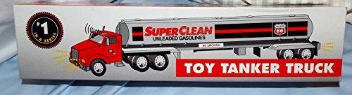 Limited Edition Collector's Series 1995 Phillips 66 Toy Tanker Truck With Real Lights, Dual Sound Switch, Logos Light Up by Unknown