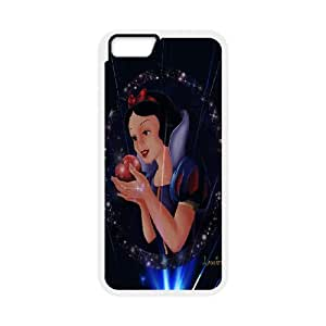 FOR Apple Iphone 6 Plus 5.5 inch screen Cases -(DXJ PHONE CASE)-Snow White Holding Apple-PATTERN 6
