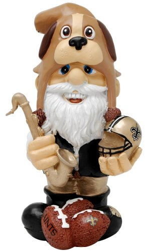 - New Orleans Saints Thematic Gnome - 2Nd Version