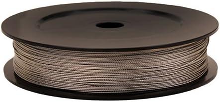 Scotty # 1002/Premium en Acier Inoxydable de Remplacement de treuil c/âble 121,9/m Bobine