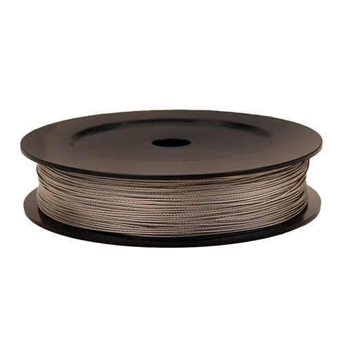 Scotty #1002 Premium Stainless Steel Replacement Downrigger Cable 400-Foot Spool ()