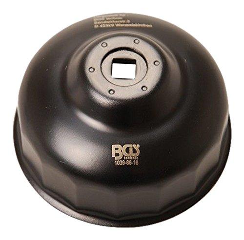 BGS Technic - Cloche de filtre à huile 86 mm x P16