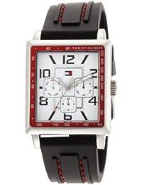 Mens 1790703 Stainless Steel Rectangular Case Sport Watch