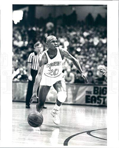 Syracuse Orange Photo - Historic Images - 1987 Vintage Press Photo Syracuse Orange Basketball Point Guard Sherman Douglas