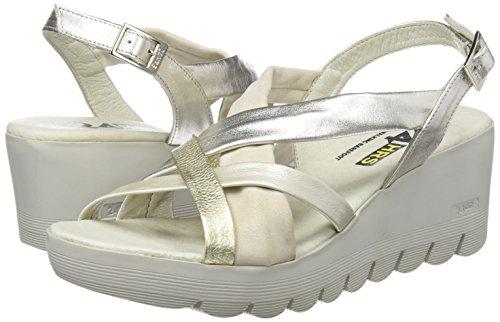 Women's 24 1 Sandals Beig Platform Beige 23627 HORAS 77x4rwqvn5