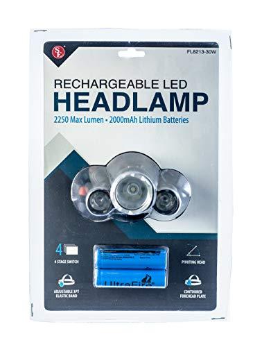 SE Rechargeable LED Headlamp