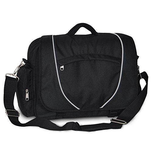 Everest Deluxe Briefcase, Black ()