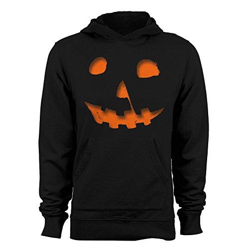 Meyer Lanterns (Michael Meyers Halloween Pumpkin Men's Hoodie Black XX-Large)