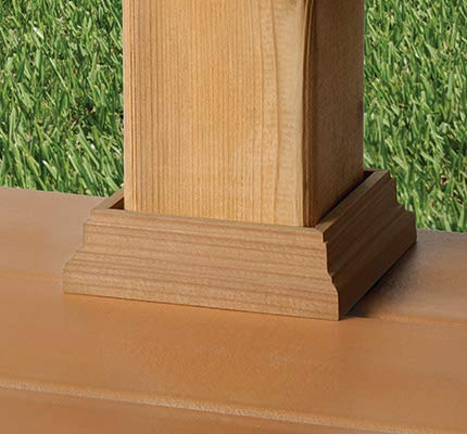 Deckorators Traditional Deck Post Skirt 4x4 (3-1/2
