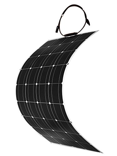 Dokio 100 Watt 12V/24v Monocrystalline Flexible Lightweight Solar Panel by Dokio