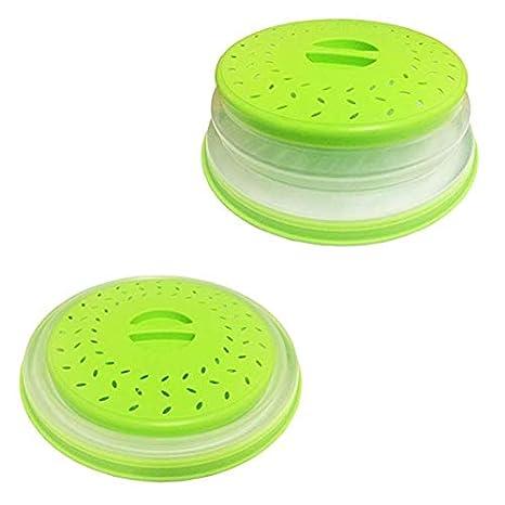 Amazon.com: Protector de microondas plegable de silicona ...