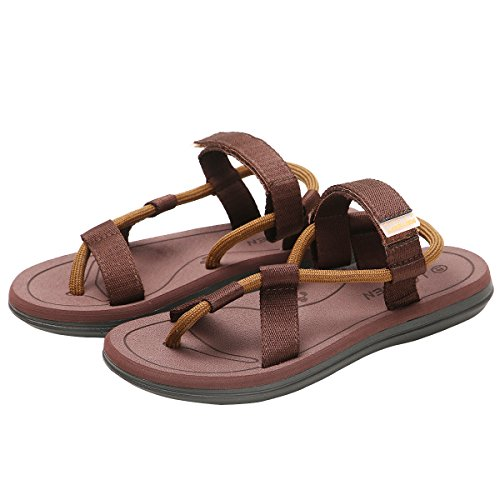 Classical CIOR Indoor Handmade Brown and Slipper Men and Sandals Flop Womens Beach Fashion Flip Thong Outdoor 7Cfqw7rU