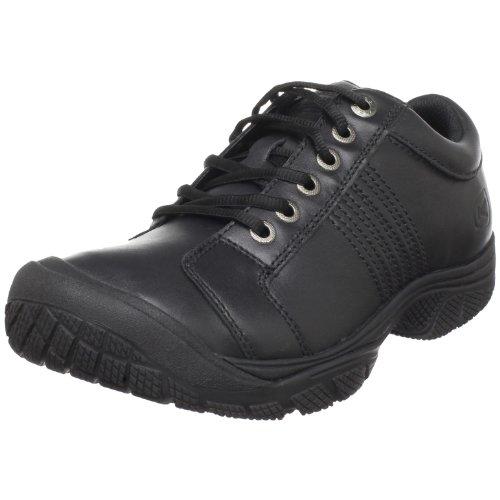 KEEN Utility Men's PTC Oxford Work Shoe,Black,12 M US