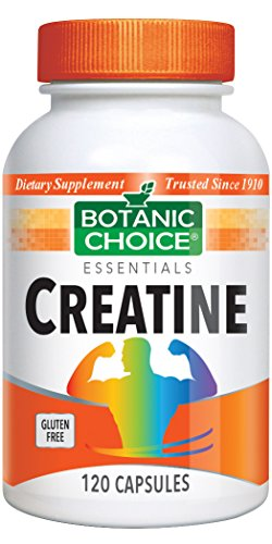 Botanic Choice Creatine, 120 Capsules