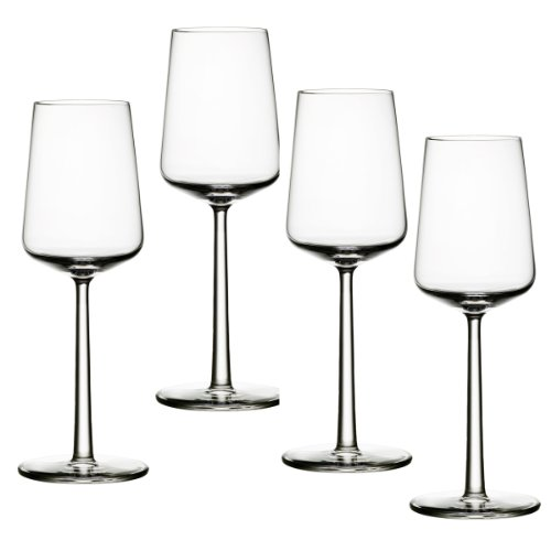 Iittala Essence White Wine Glasses Set of 4