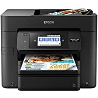 Epson WorkForce Pro WF-4740 Wireless All-in-One Color Inkjet Printer, Copier, Scanner with Wi-Fi Direct, Amazon Dash Replenishment Enabled