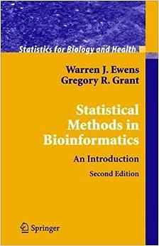 Statistical Methods In Bioinformatics: An Introduction Descargar Gratis De On Torrent