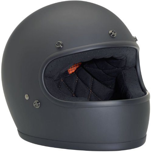 Flat Black Full Face Motorcycle Helmet - 8