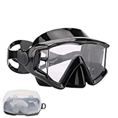 Snorkel mask:  A better snorkeling and scuba diving experiance starts with a high quality mask There is nothing more frustrating while snorkeling or scuba diving than having a mask that constantly leaks or fogs up The AQUA A DIVE SPORTS snork...