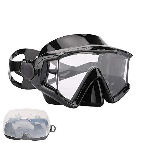 AQUA A DIVE SPORTS Scuba Snorkeling Dive Mask for Scuba Diving Snorkeling Free Diving (PC Lens ()
