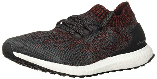 adidas Men's Ultraboost Uncaged, Carbon/Black/White, 14 M US (Stores That Sell Size 14 Mens Shoes)