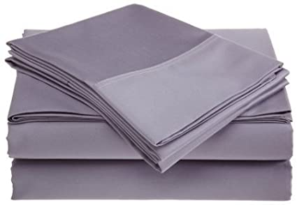 Royal Hotel Collection Soft Brushed Microfiber Full, Lilac Bed Sheets Set, HOTEL Quality Platinum Collection Bedding Set, Deep Pockets, Wrinkle & Fade Resistant, Hypoallergenic Sheet & Pillow Case Set