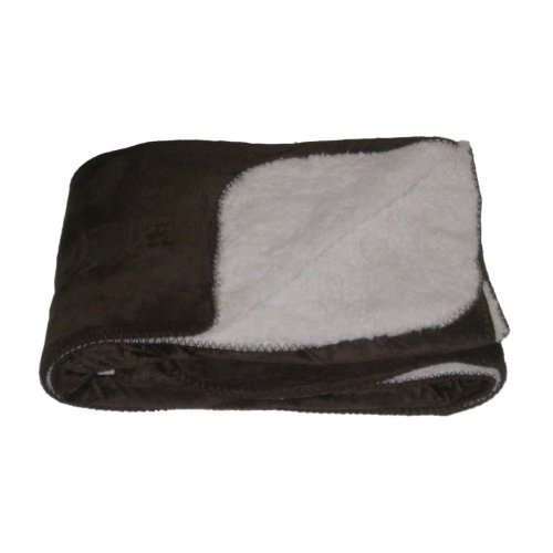 northcrest-home-sherpa-micromink-chocolate-brown-oversized-soft-throw-blanket