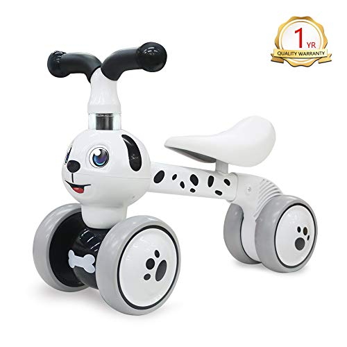 YGJT Baby Balance Bikes Indoors and Outdoors Bicycle Kids Toys Riding on Toy for 1 Year Boys Girls 10-36 Months Baby's First Bike First Birthday Gift