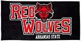 Northwest The Company NCAA Arkansas State Red Wolves Colossal Oversized Beach Towel, 34-Inch by 70-Inch