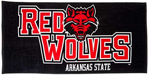 Northwest The Company NCAA Arkansas State Red Wolves Colossal Oversized Beach Towel, 34-Inch by 70-Inch by Northwest