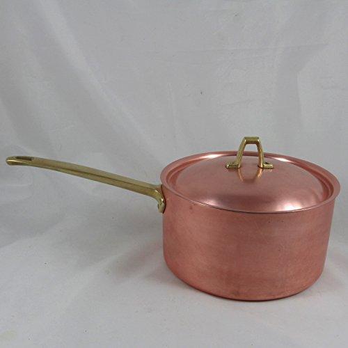 1801 Paul Revere Signature Copper Cookware 2-1/2 Quart Sauce