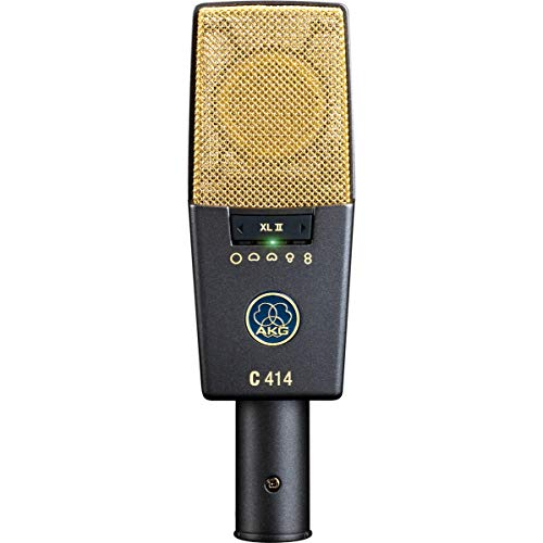AKG C414 XLII Vocal Condenser Microphone, Multipattern
