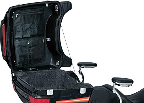 (Kuryakyn 4134 Motorcycle Travel Luggage: Removable Trunk Lid Organizer Bag with Carrying Handles for Harley-Davidson Motorcycles with: King, Ultra, Chopped Tour-Paks, Black)