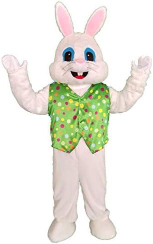 [해외]녹색 부활절 토끼 마스코트 코스튬 성인 할로윈 코스튬 / 녹색 부활절 토끼 마스코트 코스튬 성인 할로윈 코스튬