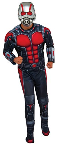 Rubie's Costume Co Men's Ant-Man Deluxe Costume, Multi, (Ant Man Costume Halloween)