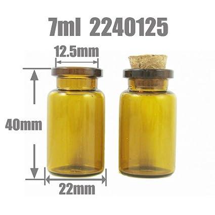 Kerry Anagela clubking corcho de botella de vidrio Frasco 7 ml Aceite de borosilicato deseen 2240125