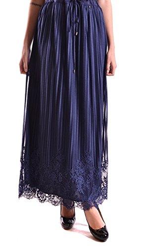 Twin-Set Damen MCBI302038O Blau Polyamid Rock